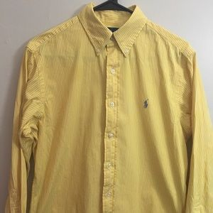 Yellow Ralph Lauren Button Down